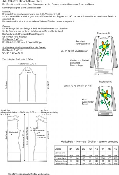 06-791 U-Boot-Basic-Shirt